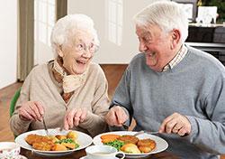 portage de repas couple
